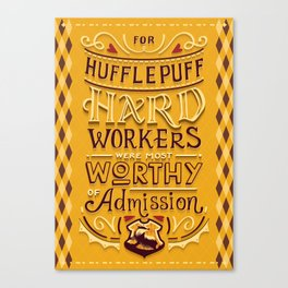 Hard Workers Canvas Print