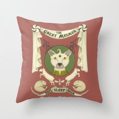 the great mesmer Throw Pillow