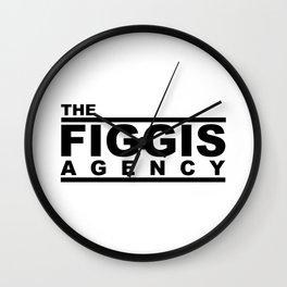 The Figgis Agency Wall Clock