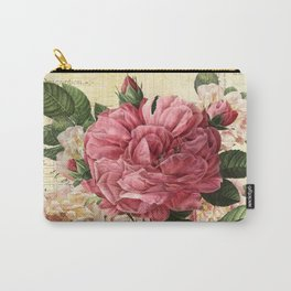 Vintage flowers #28 Carry-All Pouch