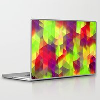 neon Laptop & iPad Skins featuring Neon by KRArtwork