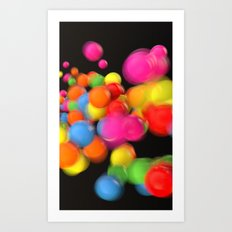 Motion Part 3 Art Print