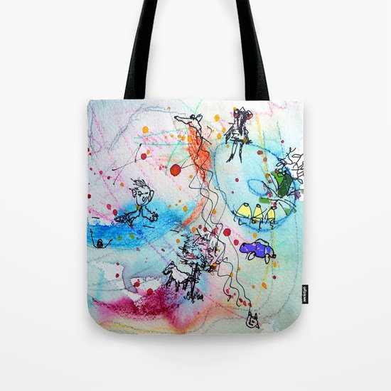 everyday stories Tote Bag