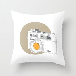 Yashica Electro 35 GSN Camera Throw Pillow