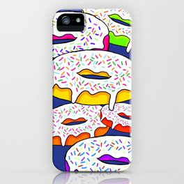 Trippy Donuts iPhone Case