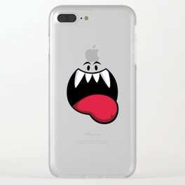 Happy Boo! Clear iPhone Case