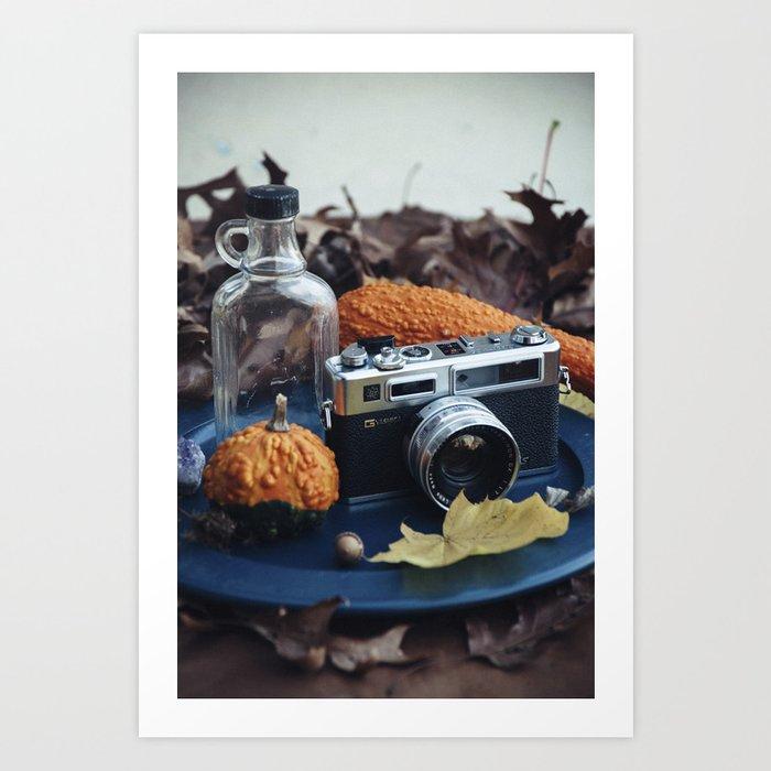 Still Life - Yashica Electro 35 Art Print