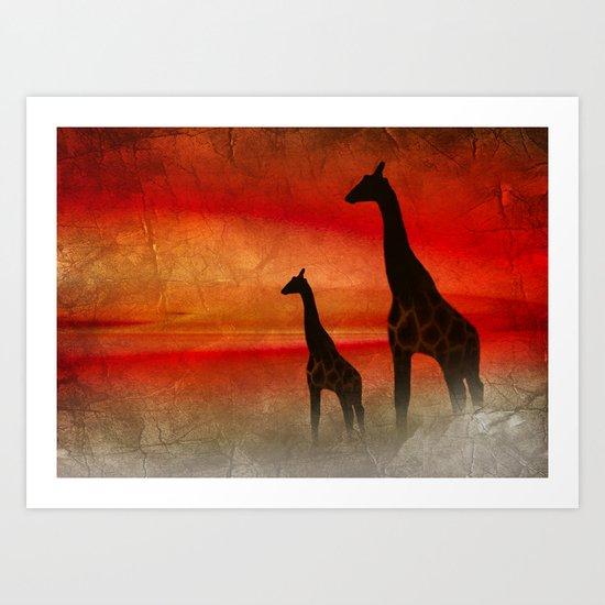 Africa Feeling 2 Art Print