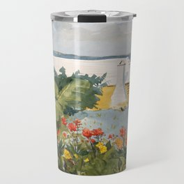 Flower Garden and Bungalow, Bermuda Travel Mug