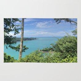 Costa Rican Ocean Views Rug