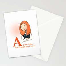 A is for Amy Stationery Cards