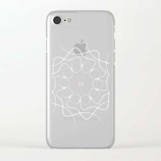 Ornament-Joy Clear iPhone Case