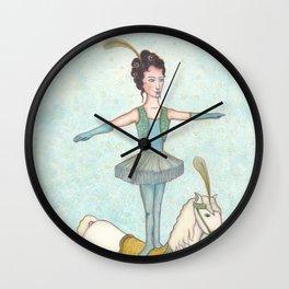 Circus Lady Wall Clock