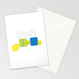 Roblox Oof! Gaming Noob Stationery Cards