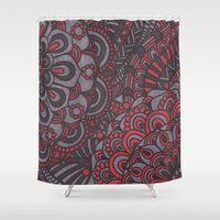 classy Shower Curtains featuring Classy  by Doodle Art Designs by Dwyanna Stoltzfus