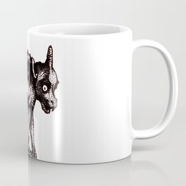 Black Gargoyle Coffee Mug