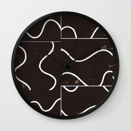 Black level Wall Clock