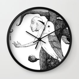 Fragility, Inside out Wall Clock