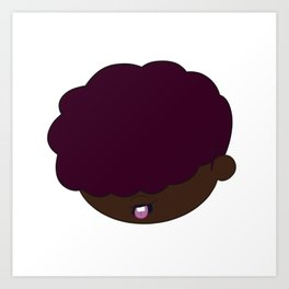Baako - Head Art Print