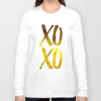 xoxo Long Sleeve T-shirts featuring XOXO by cat&wolf