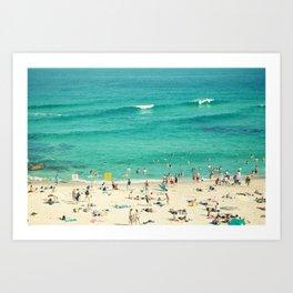 Holiday in Sydney Art Print