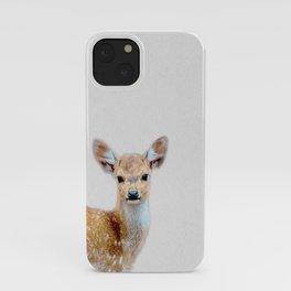 cool deer baby iPhone Case