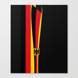 Abstract German Symbols Canvas Print