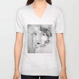 Lillian Unisex V-Neck