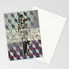 cut.paste.destroy Stationery Cards