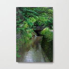 Kyoto Canal II Metal Print