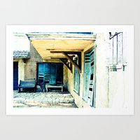 rustic Art Prints featuring Rustic by Kim Ramage