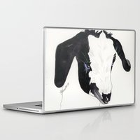 belle Laptop & iPad Skins featuring Belle by Bren Sparling
