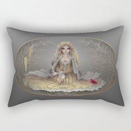 Your White Magic Rectangular Pillow