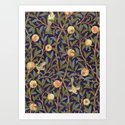 William Morris Bird And Pomegranate by artgallery