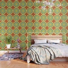 vintage floral pattern Wallpaper