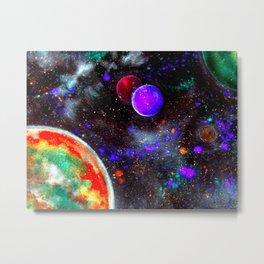 Intense Galaxy Metal Print