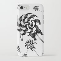 goth iPhone & iPod Cases featuring Goth Lollies by All Is One