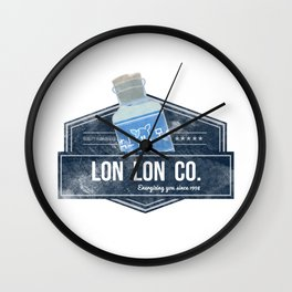 Lon Lon Co. Wall Clock
