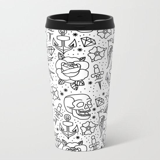 Flash Metal Travel Mug