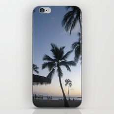 Blue Hawaiian Sunset iPhone & iPod Skin