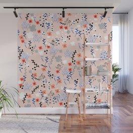 Flower Garden Blooms Wall Mural
