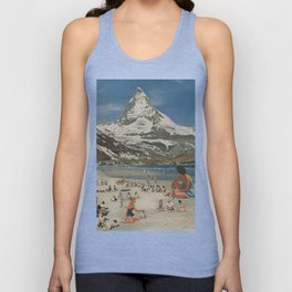 Matterhorn beach Unisex Tank Top
