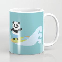 Surf Panda Coffee Mug
