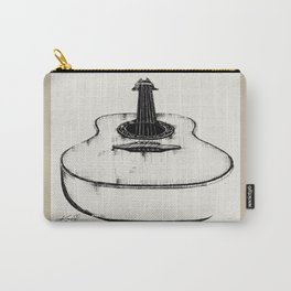 Guitar by Kathy Morton Stanion Carry-All Pouch