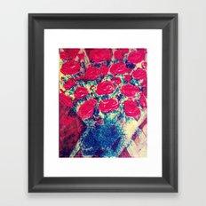 Pop Rose Framed Art Print