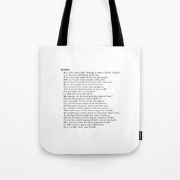 Romeo Tote Bag