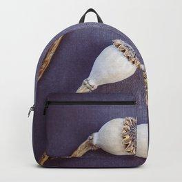 Poppy Seed Heads Backpack