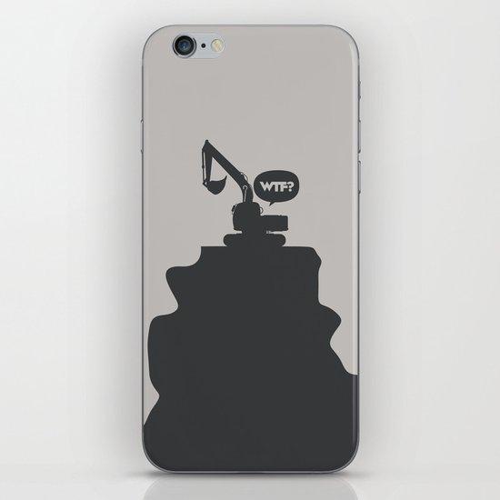 WTF? Grua! iPhone & iPod Skin