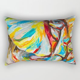 Elephant's eye Rectangular Pillow
