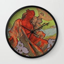 Iris Opera Italian art nouveau concert advert Wall Clock